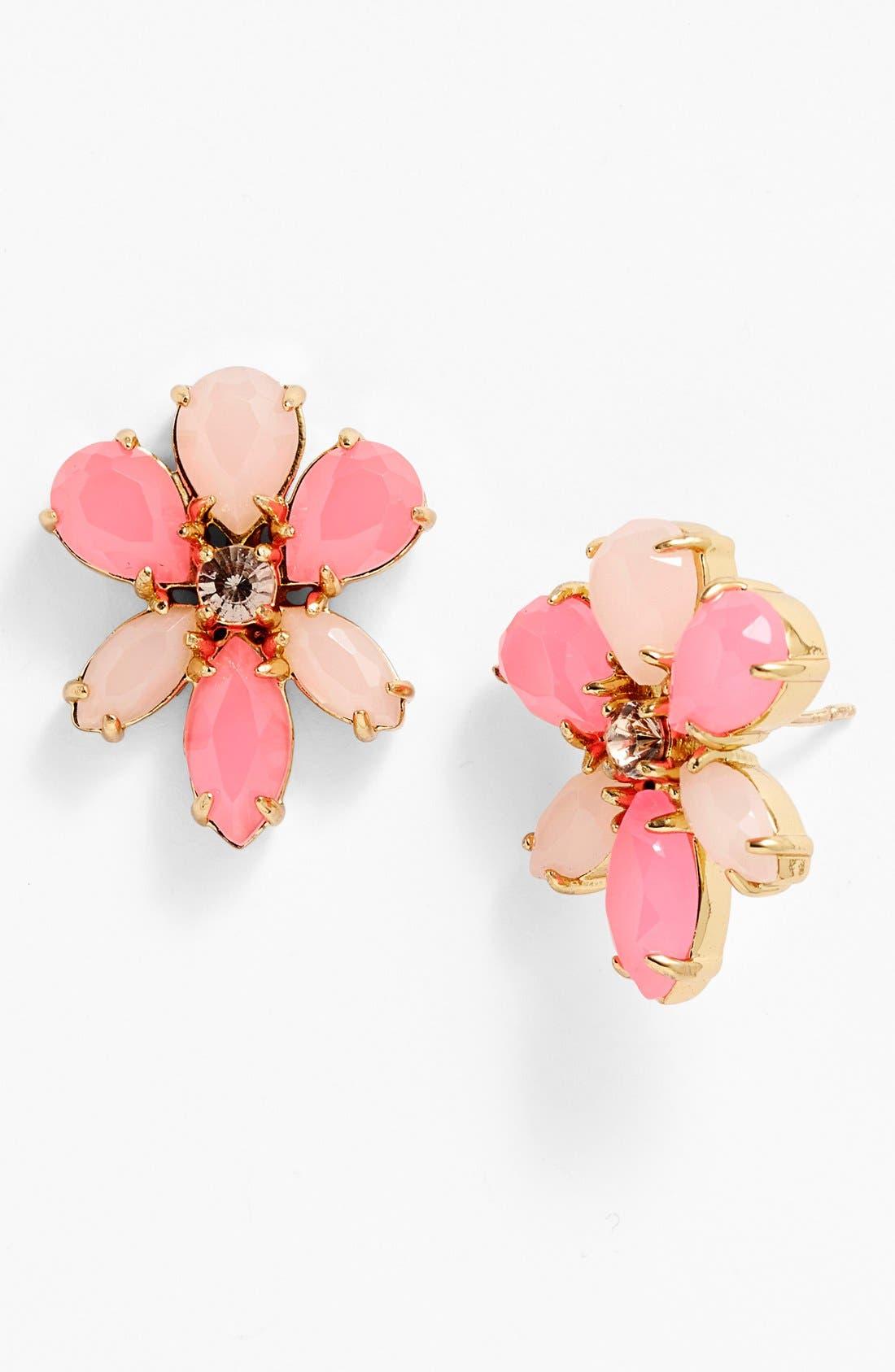 Alternate Image 1 Selected - kate spade new york 'gardens of paris' oversize stud earrings