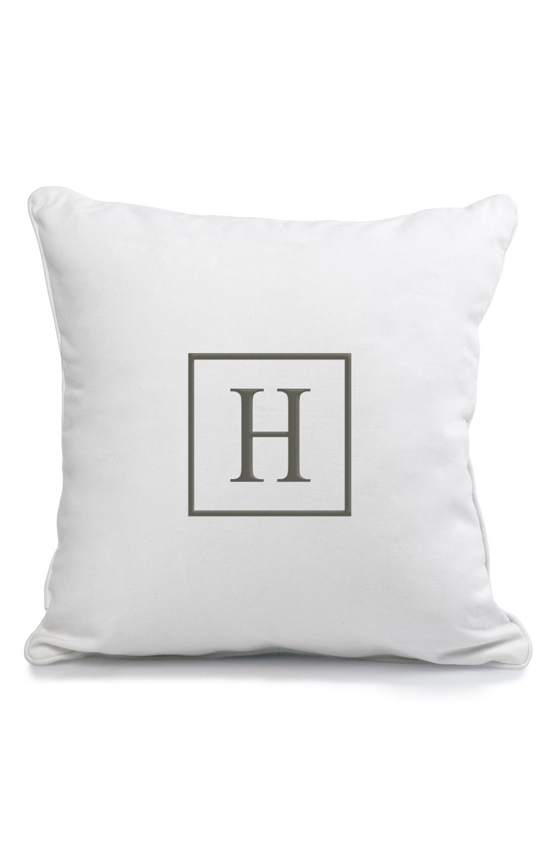 Alternate Image 1 Selected - Cathy's Concepts Monogram Pillow