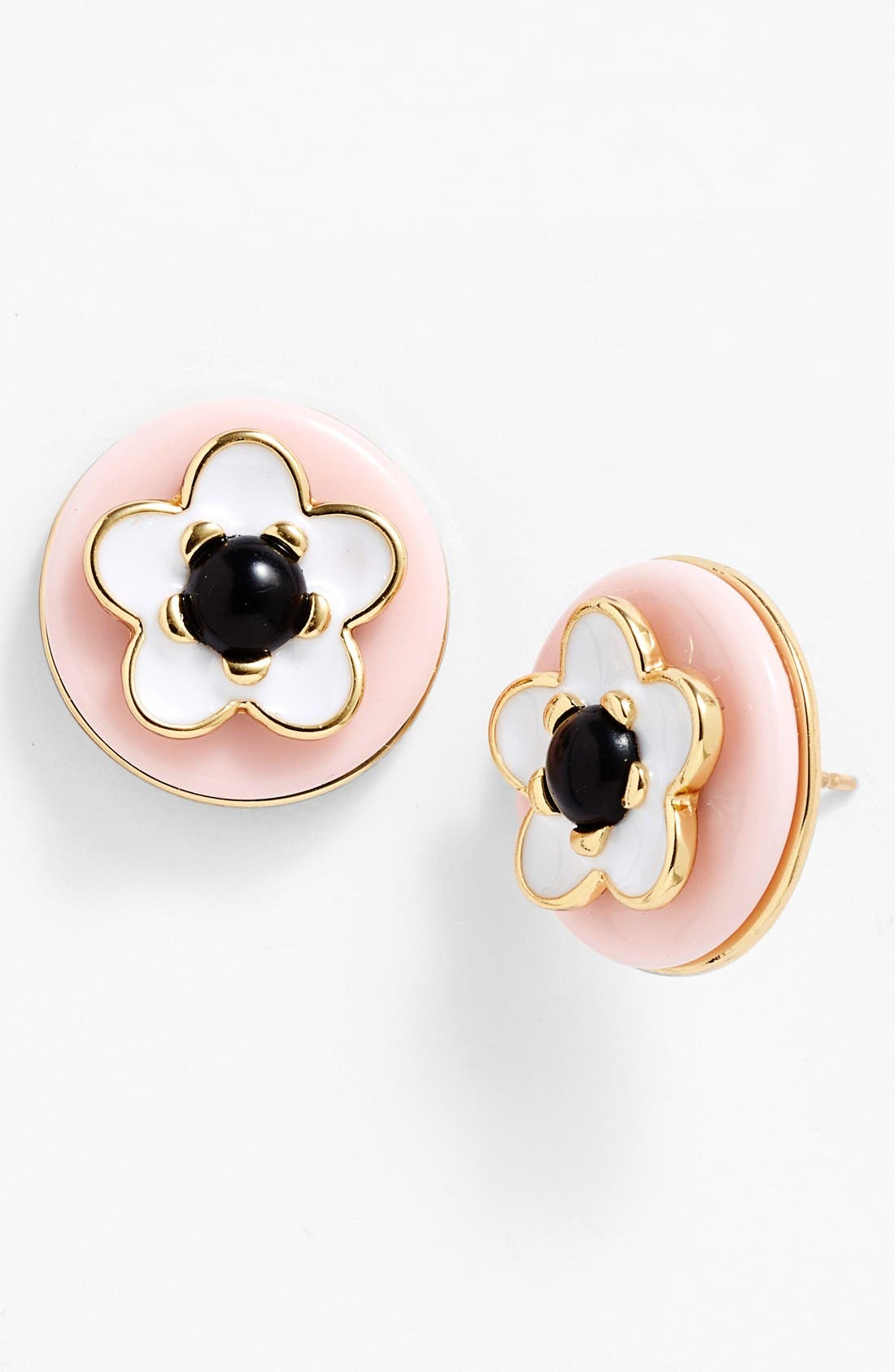 Main Image - kate spade new york 'mod flora' stud earrings