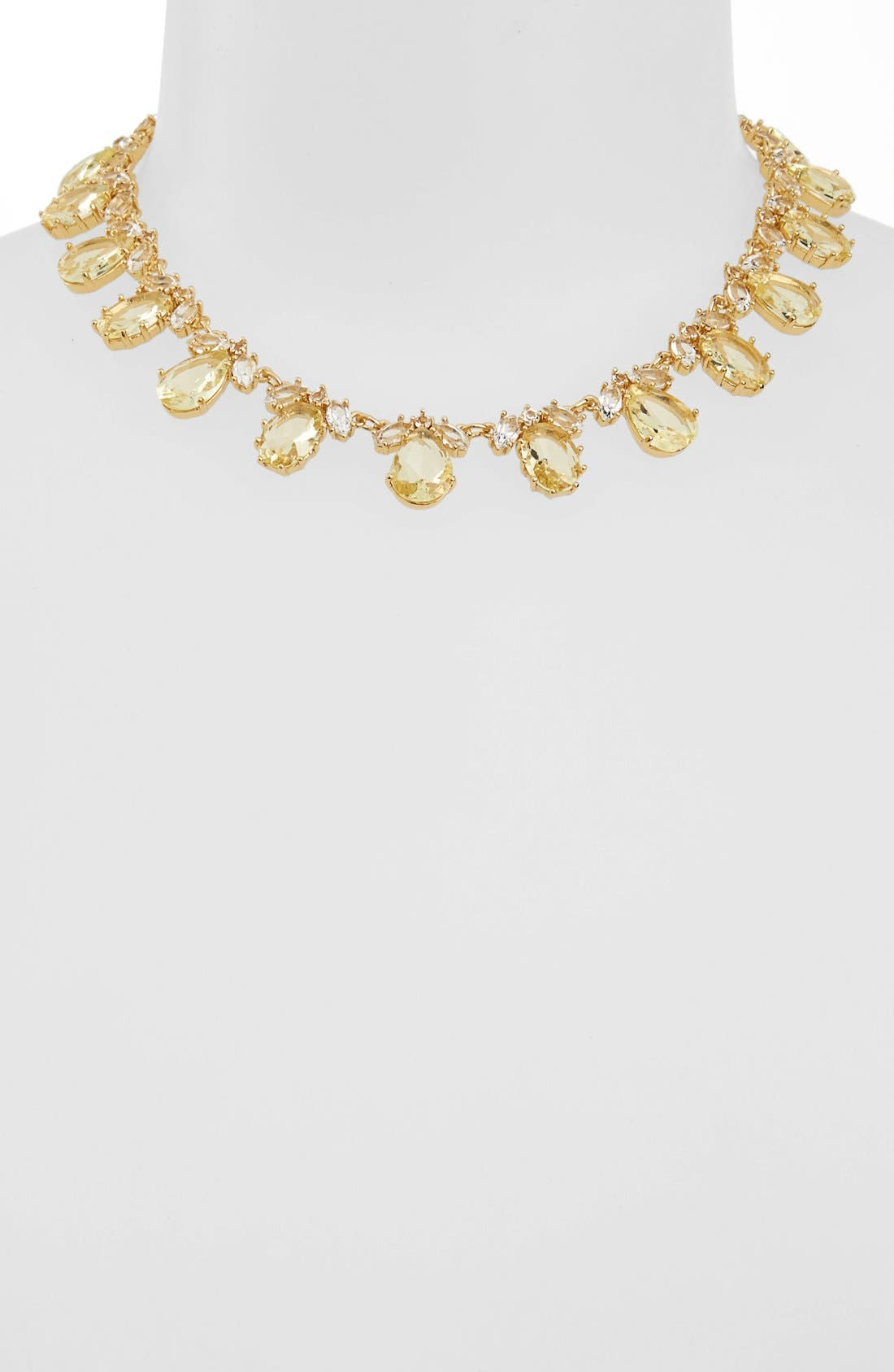 Alternate Image 1 Selected - kate spade new york 'up the ante' stone collar necklace