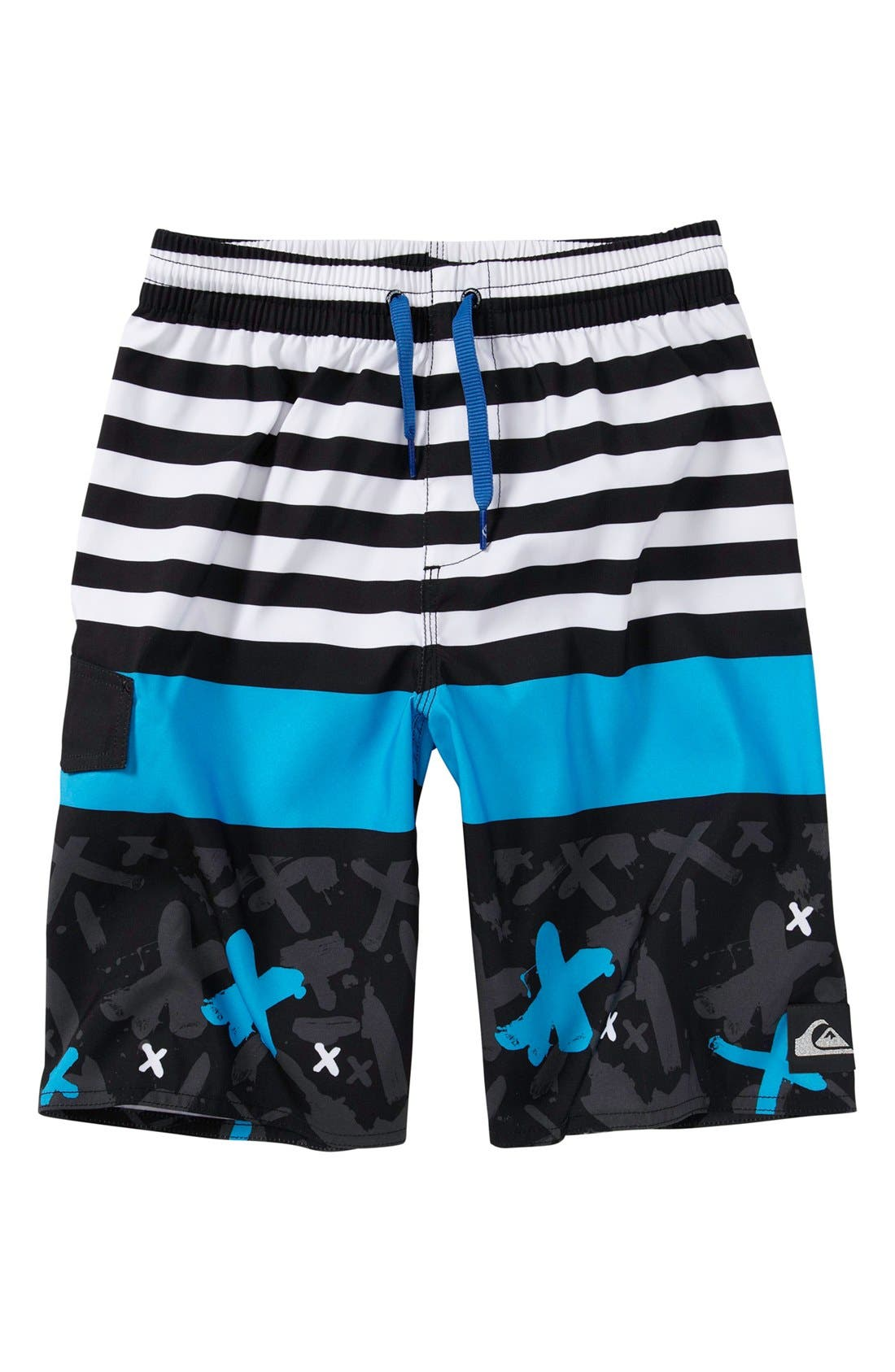 Alternate Image 1 Selected - Quiksilver 'Way Out Volley' Board Shorts (Toddler Boys)