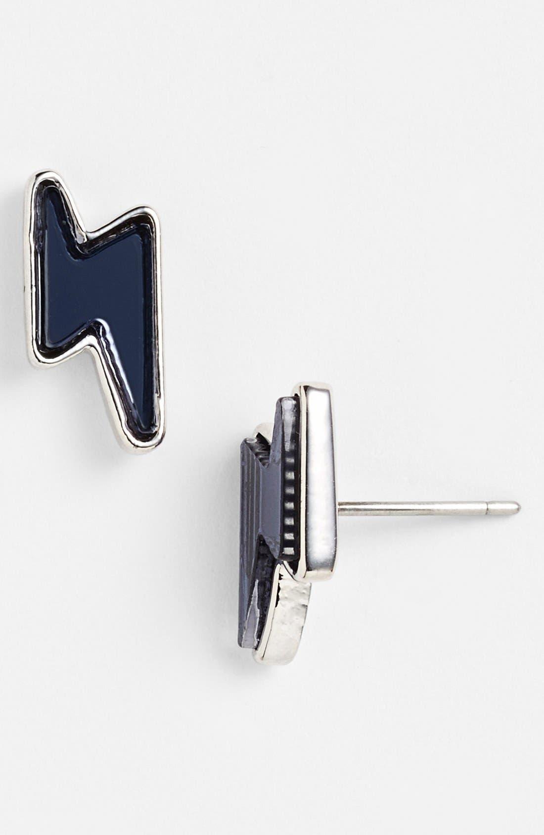 Alternate Image 1 Selected - MARC BY MARC JACOBS 'Grab & Go Debbies' Lightning Bolt Stud Earrings
