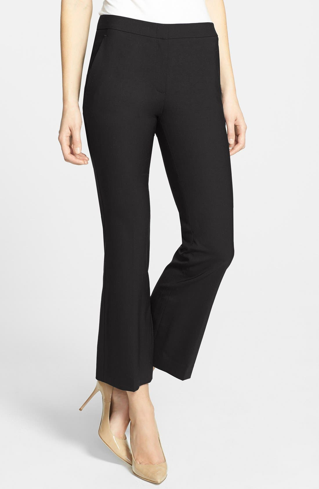Main Image - Theory 'Benetta' Stretch Wool Pants
