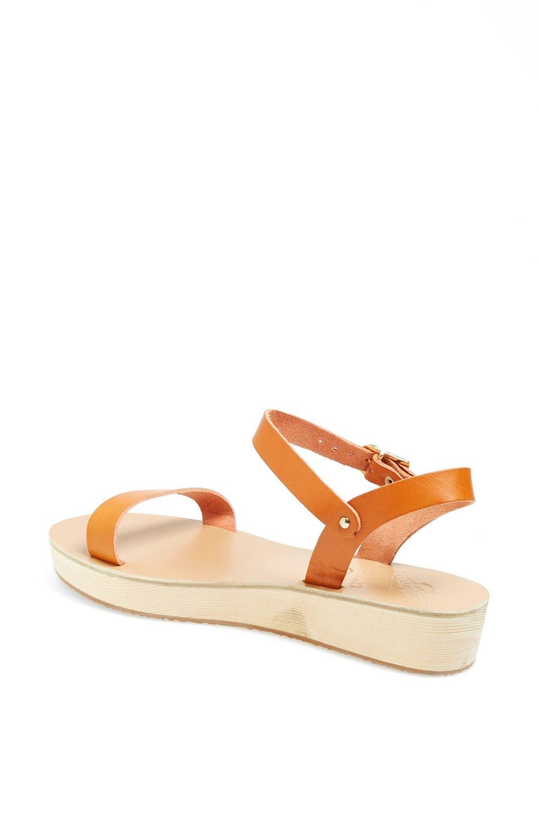 Alternate Image 2  - Ancient Greek Sandals 'Drama' Platform Sandal
