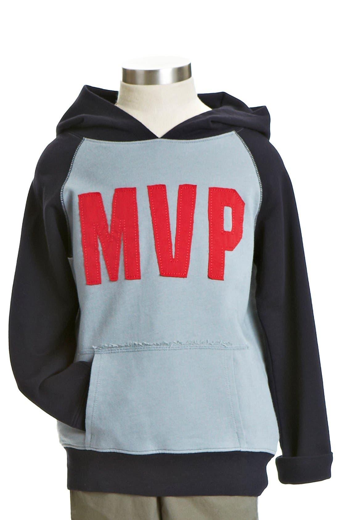 Alternate Image 1 Selected - Peek 'MVP' Hoodie (Toddler Boys, Little Boys & Big Boys)