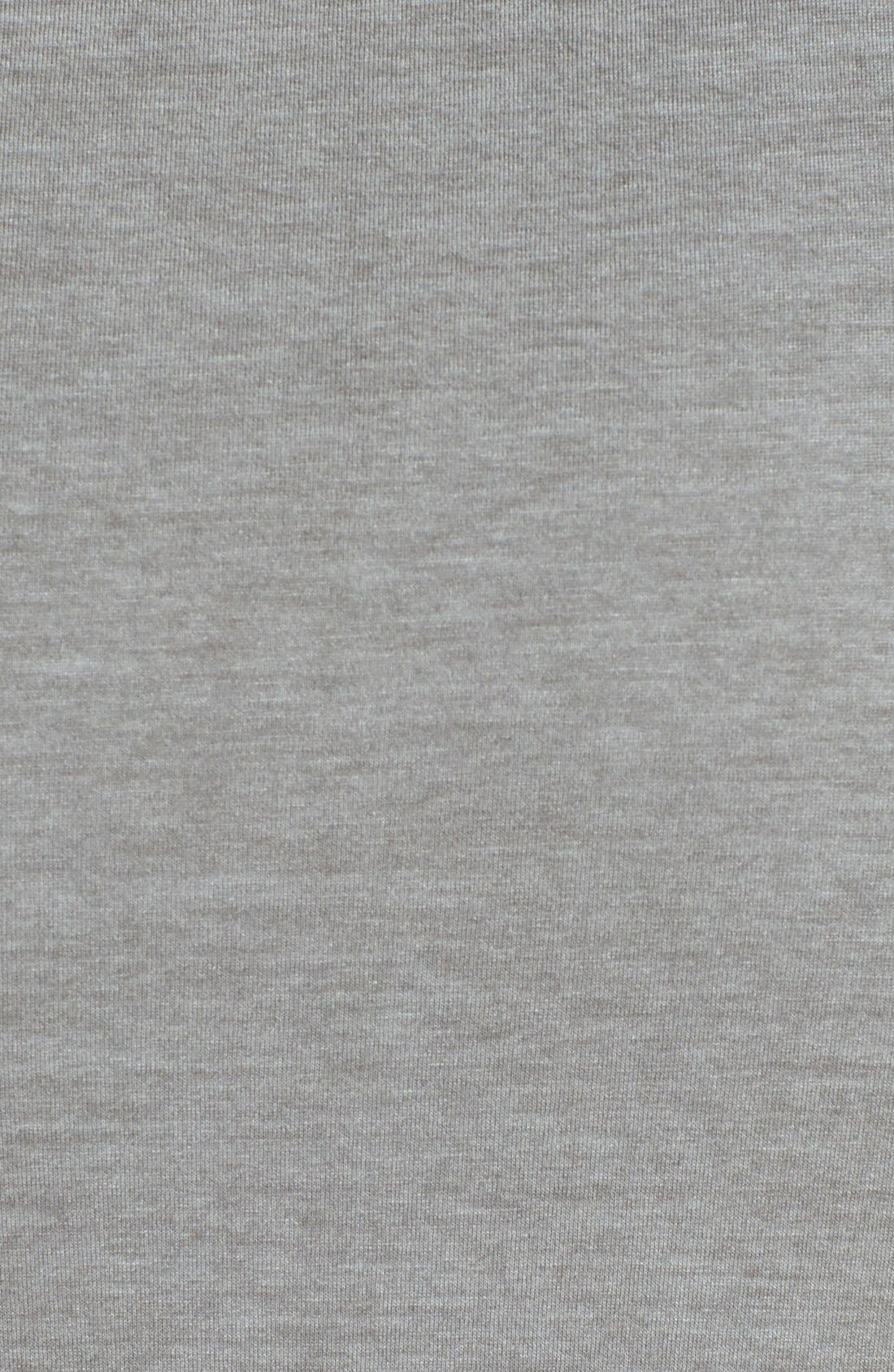 Alternate Image 3  - Three Dots Drape Front Maxi Skirt