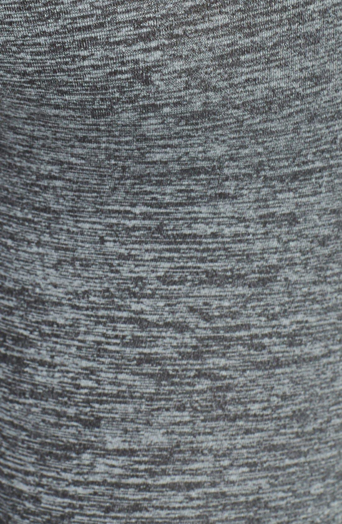 Alternate Image 4  - Hard Tail Ruched Foldover Waist Leggings