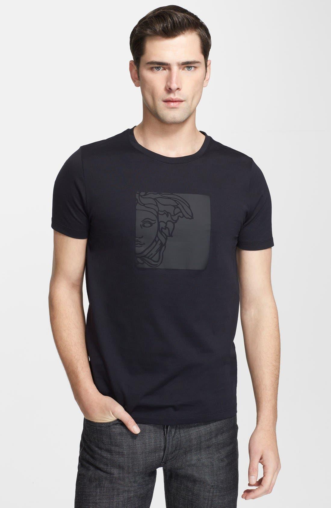 Main Image - Versace Medusa Print Crewneck T-Shirt