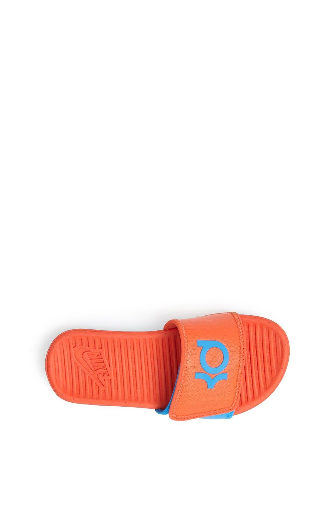 Alternate Image 3  - Nike 'Flex Motion Signature' Sandal (Little Kid & Big Kid)