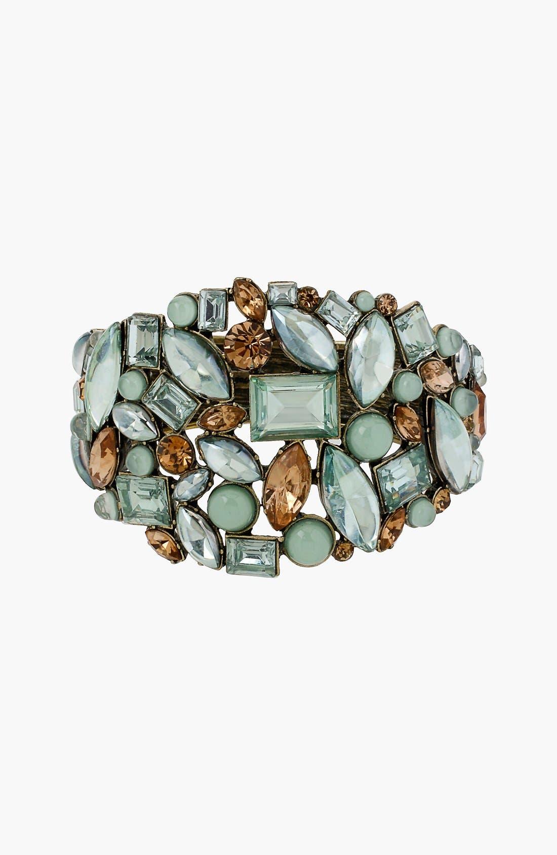 Alternate Image 2  - Betsey Johnson 'Mint Multi' Hinged Bangle Bracelet
