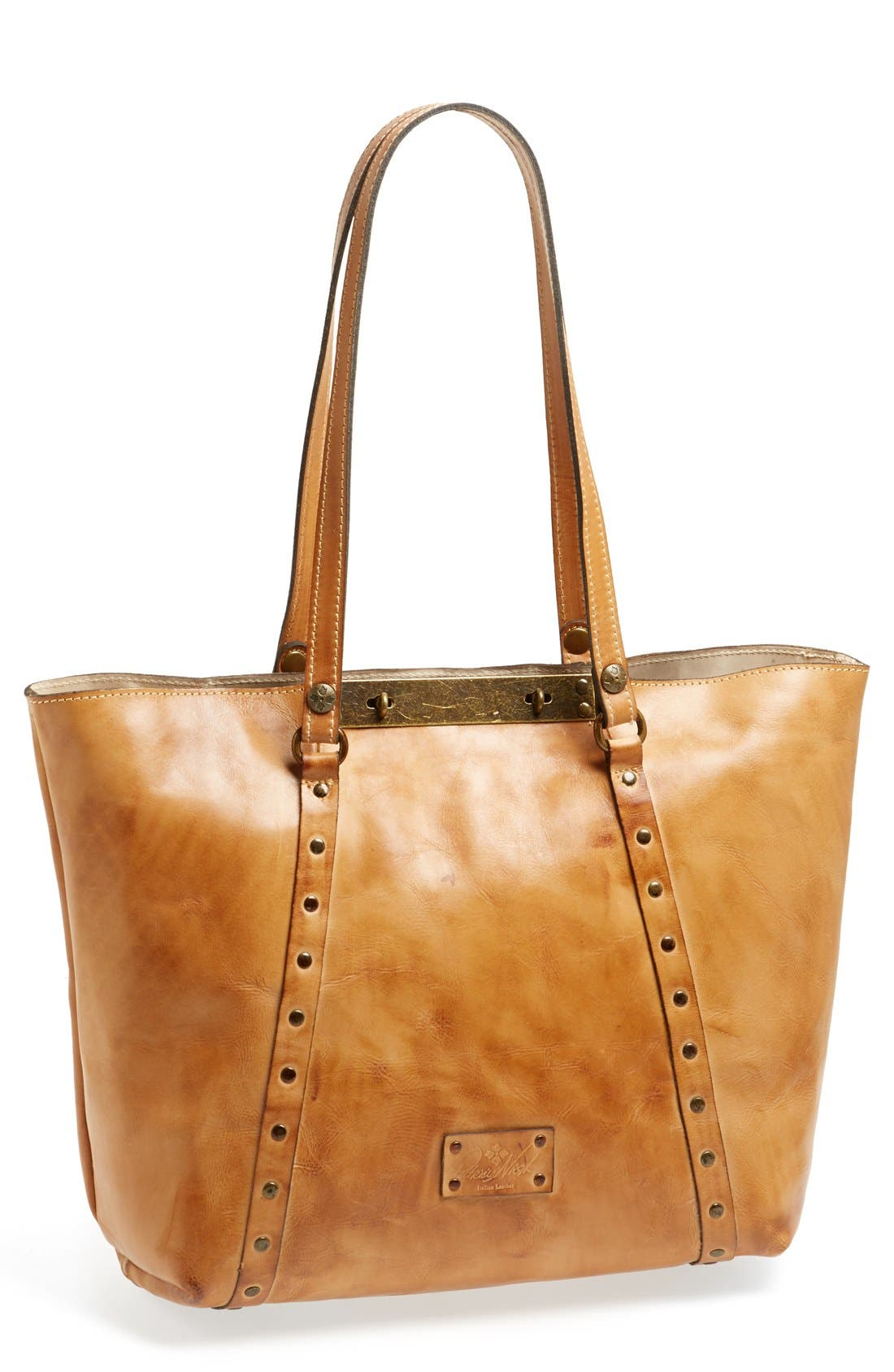 Alternate Image 1 Selected - Patricia Nash 'Benvenuto' Leather Tote