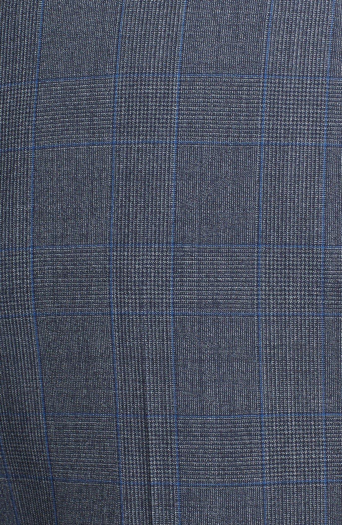 Alternate Image 5  - Burberry London 'Canbury' Glen Plaid Virgin Wool Suit