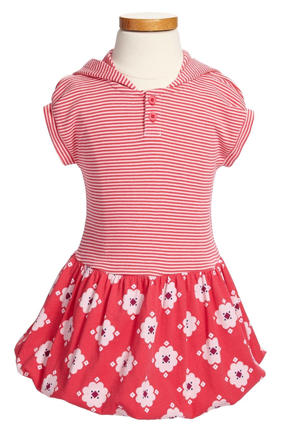 Main Image - Tea Collection 'Berber Floral' Bubble Dress (Little Girls & Big Girls)
