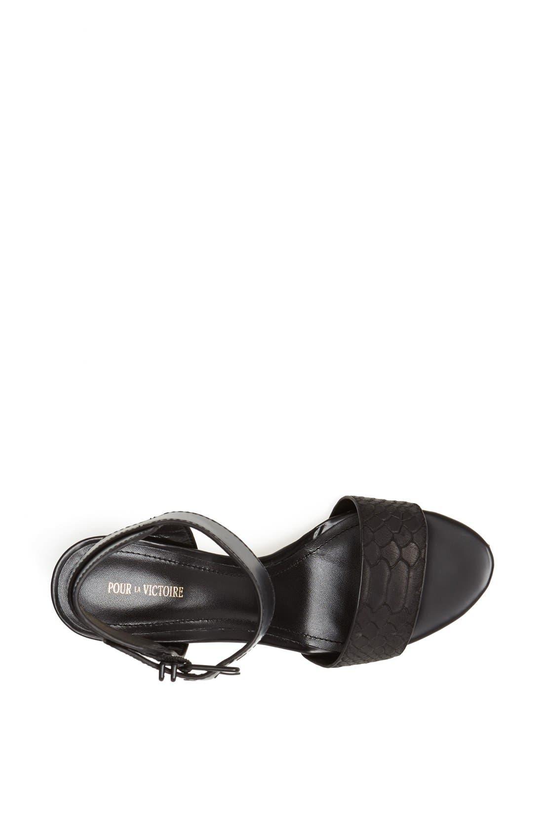 Alternate Image 3  - Pour la Victoire 'Quin' Sandal