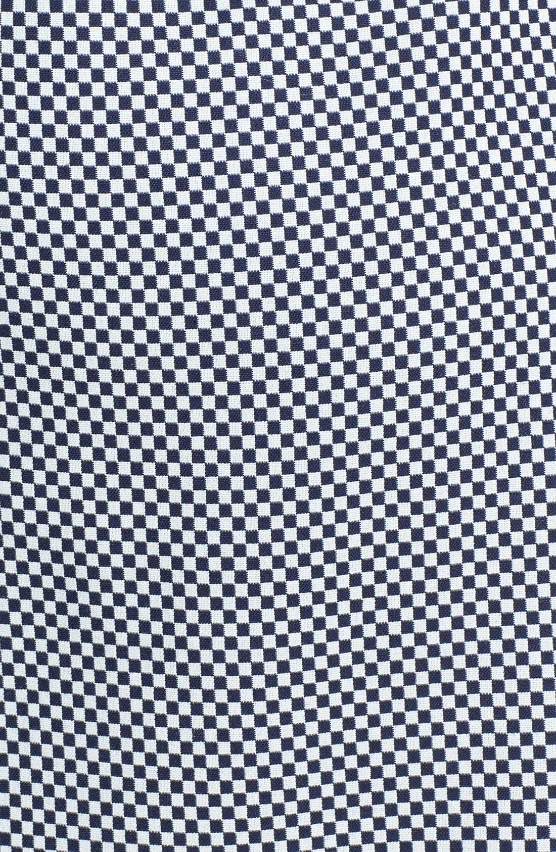 Alternate Image 3  - Anne Klein Check Print A-Line Skirt (Plus Size)