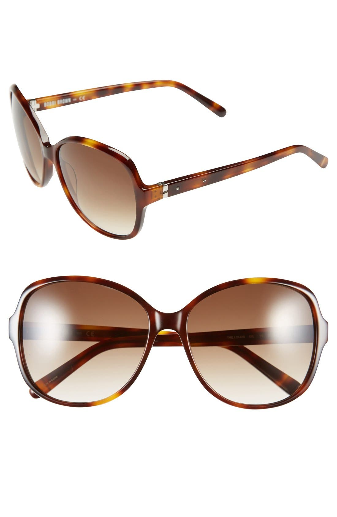 Alternate Image 1 Selected - Bobbi Brown 'The Lola' 59mm Sunglasses