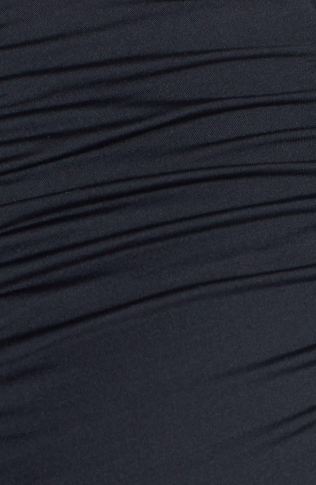 Alternate Image 5  - Vitamin A® 'Marilyn' Ruched High Waist Swim Shorts