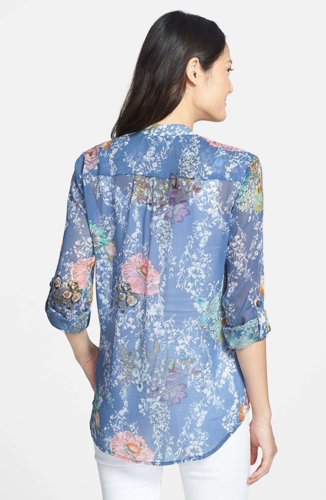 Alternate Image 2  - KUT from the Kloth 'Jasmine' Roll Sleeve Shirt
