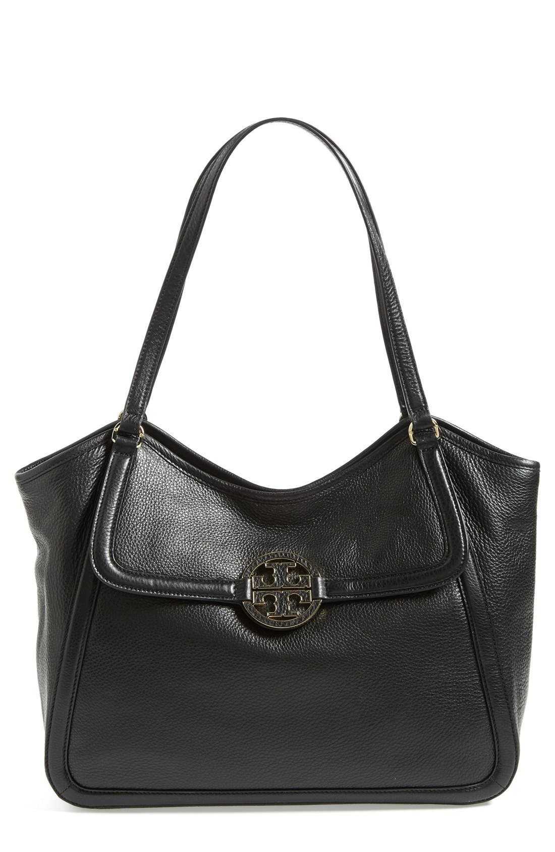 Alternate Image 1 Selected - Tory Burch 'Small Amanda' Satchel