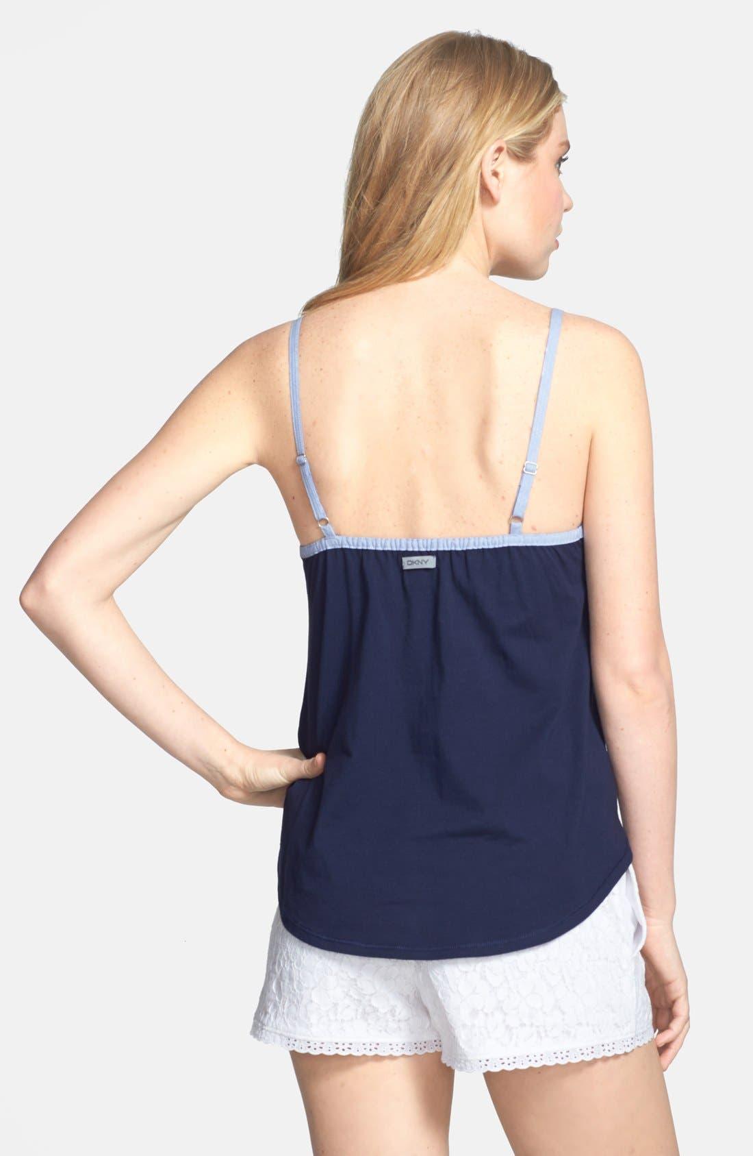 Alternate Image 4  - DKNY 'Pier Side' Floral Lace Boxer Shorts