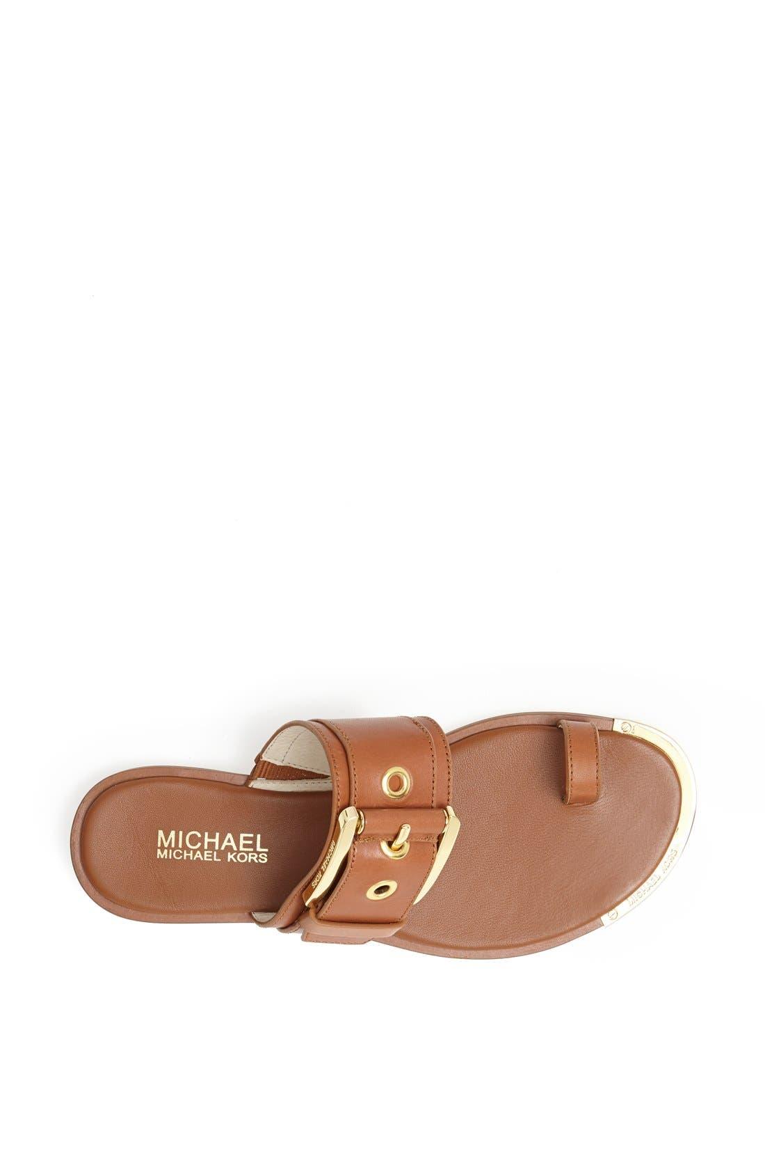 Alternate Image 3  - MICHAEL Michael Kors 'Calder' Toe Loop Sandal