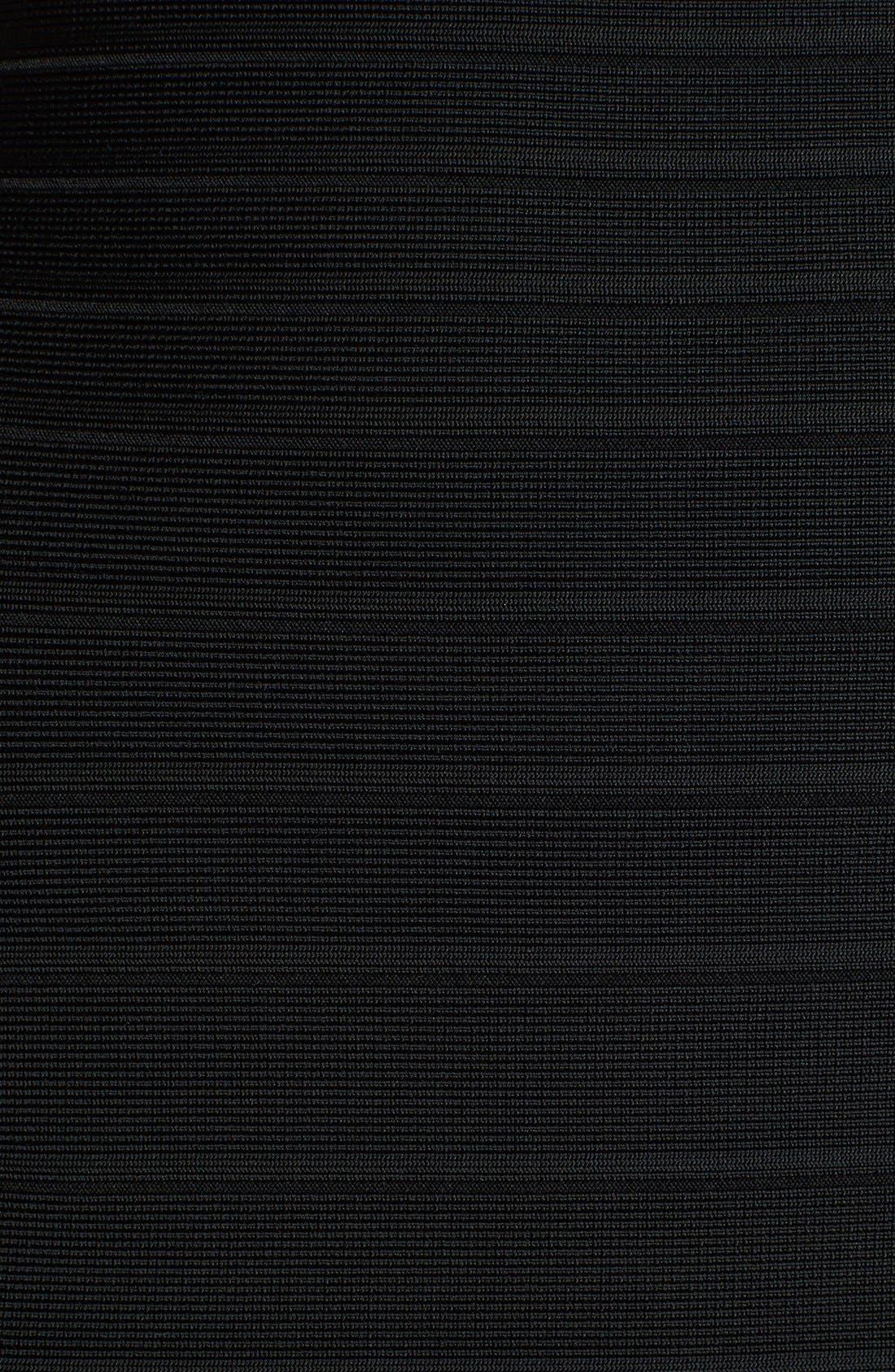 Alternate Image 3  - Herve Leger One-Shoulder Bandage Gown
