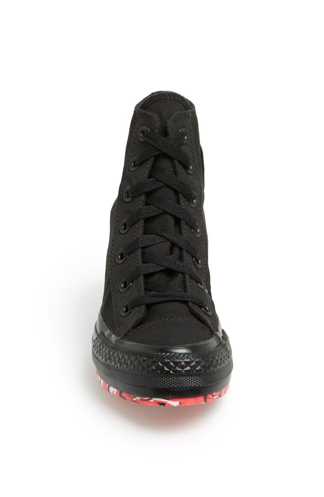 Alternate Image 3  - Converse Chuck Taylor® All Star® High Top Wedge Sneaker (Women)