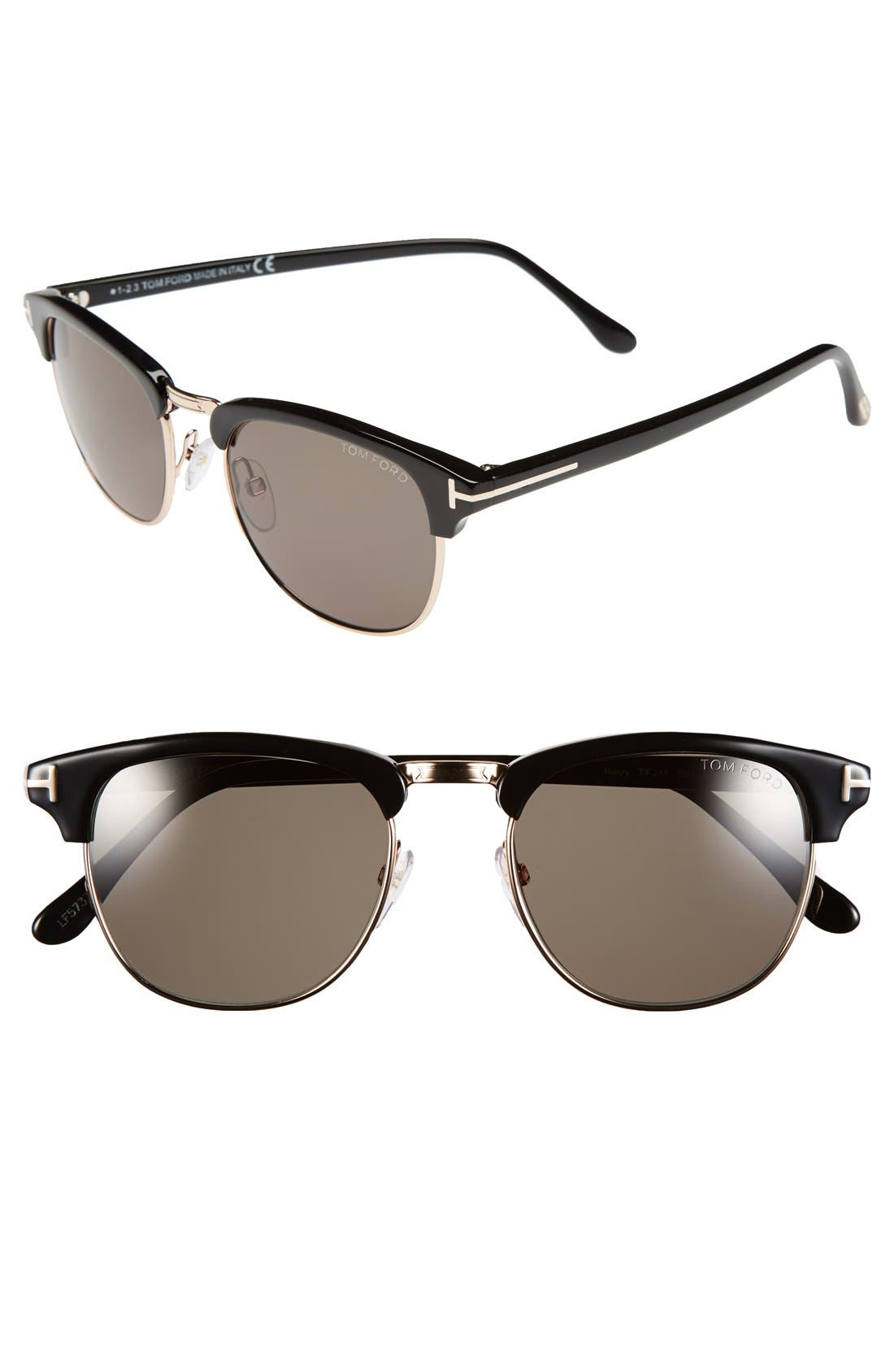 Main Image - Tom Ford 57mm Sunglasses