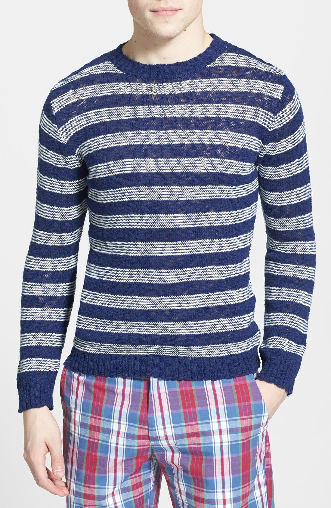 Alternate Image 1 Selected - Gant Rugger 'The Slubber' Sweater