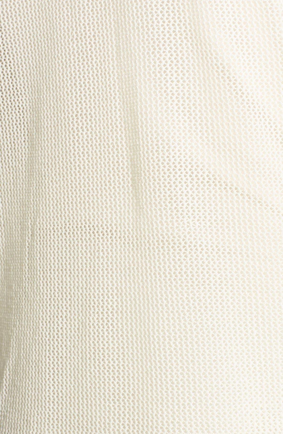 Alternate Image 3  - Tildon Mesh Cotton Pullover