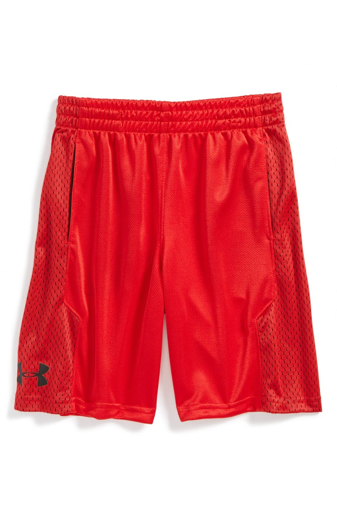Main Image - Under Armour 'Awesomeness' HeatGear® Shorts (Little Boys)