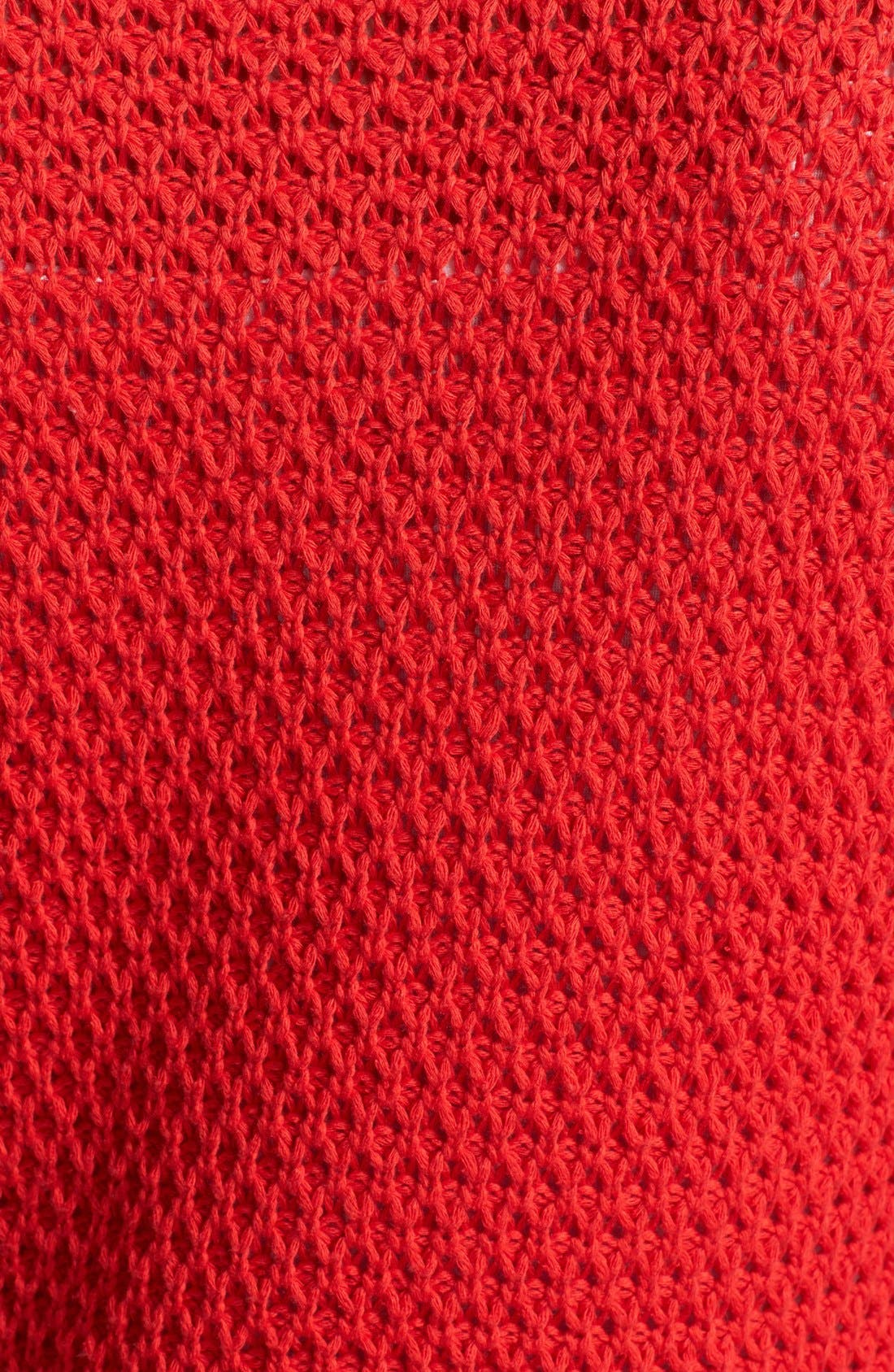 Alternate Image 3  - Two by Vince Camuto Open Stitch Sweater