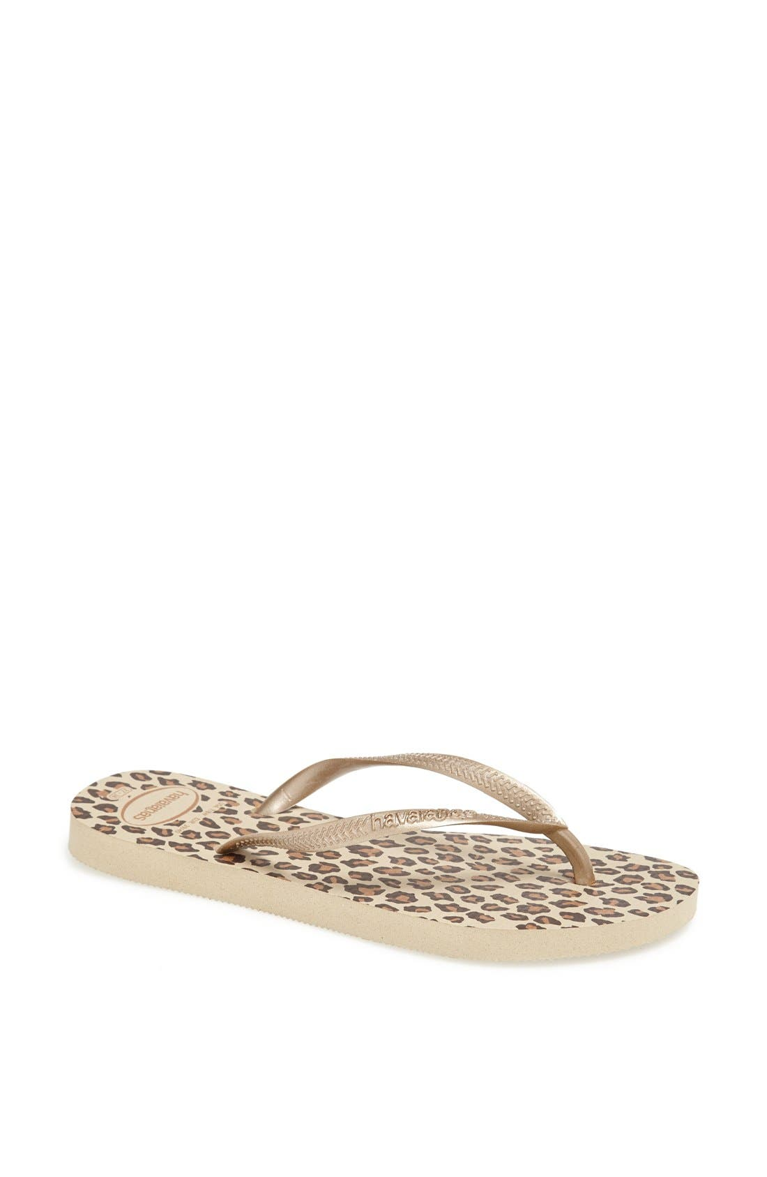 Alternate Image 1 Selected - Havaianas 'Slim Animal Print' Flip Flop (Women)