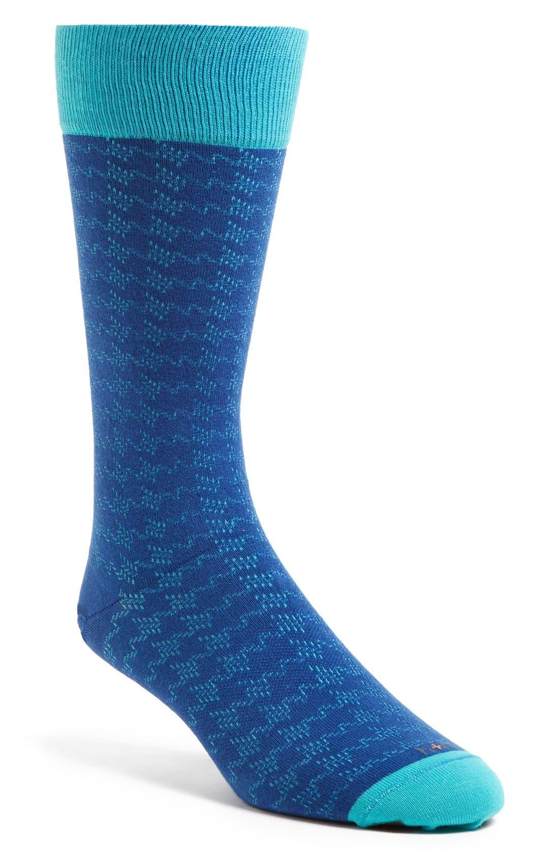 Main Image - hook + ALBERT 'Captoe' Socks