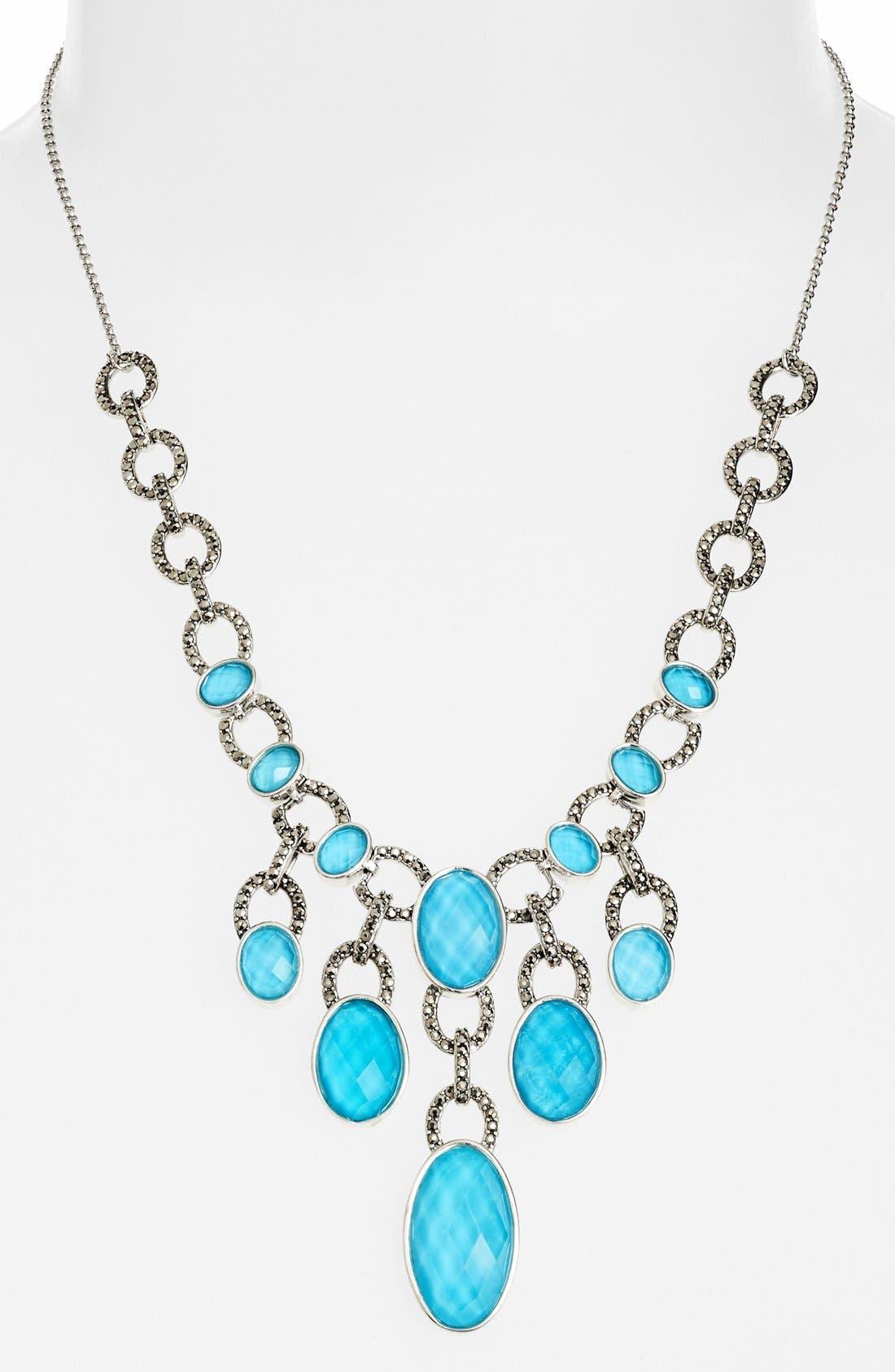 Alternate Image 2  - Judith Jack 'Tropical Breeze' Frontal Necklace