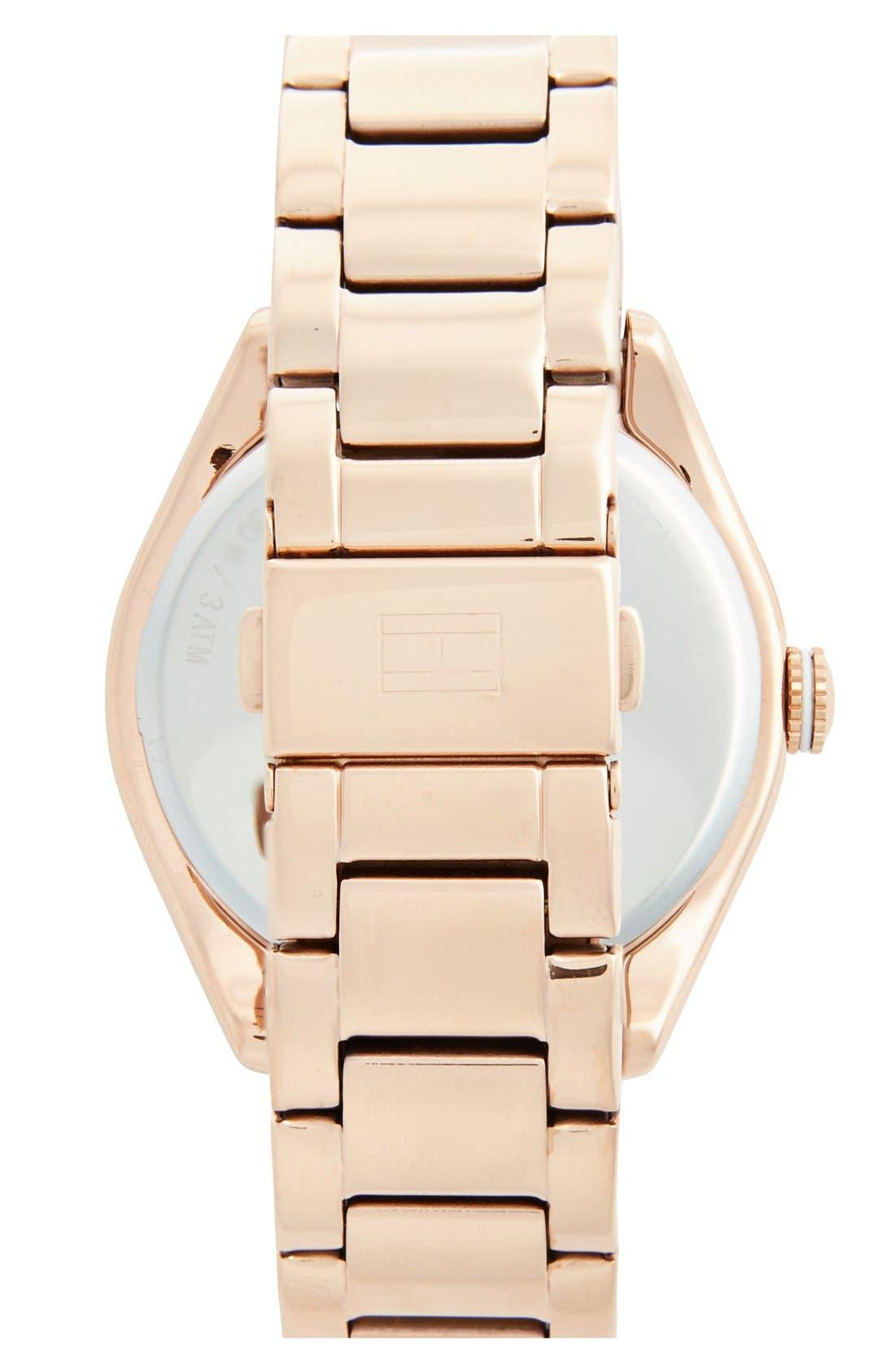 Alternate Image 2  - Tommy Hilfiger Round Bracelet Watch, 41mm