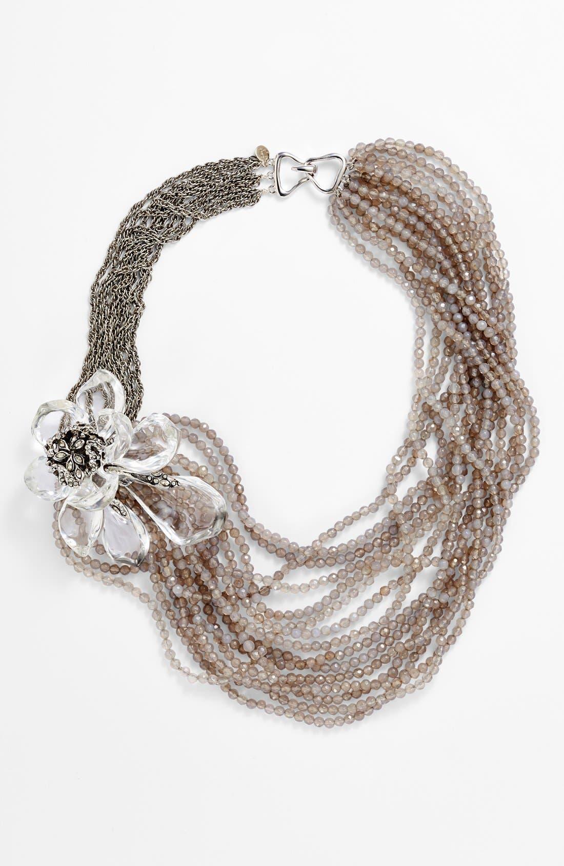 Alternate Image 1 Selected - Alexis Bittar 'Lucite® - Jardin Mystère' Multistrand Necklace