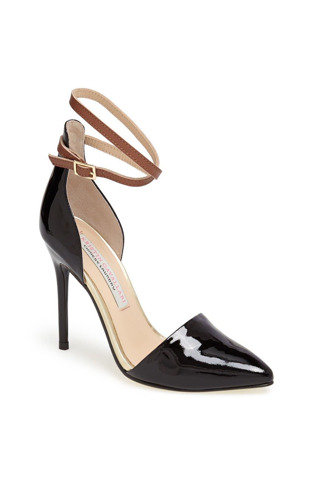 Main Image - Kristin Cavallari 'Kalea' d'Orsay Ankle Strap Pump
