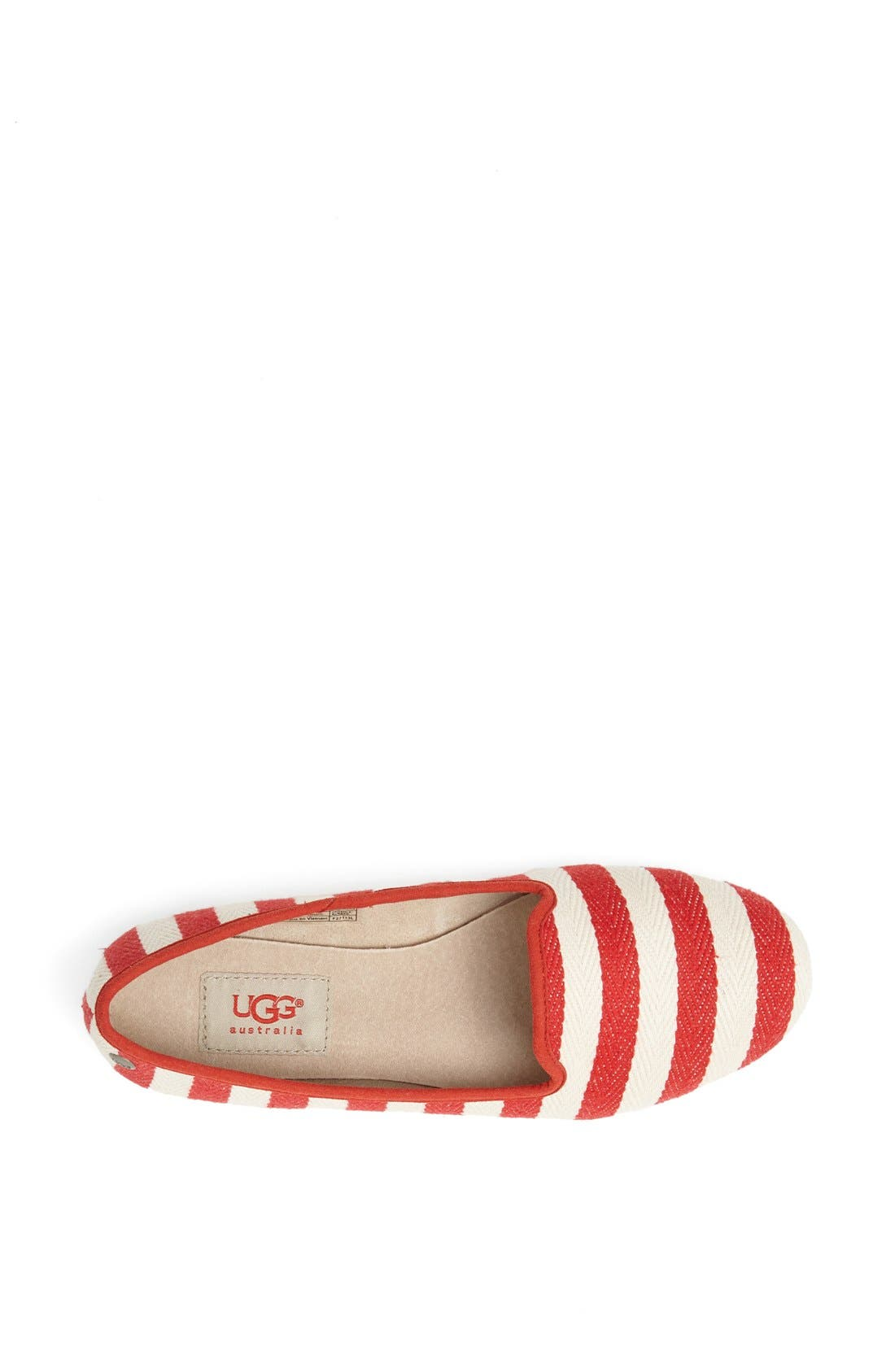 Alternate Image 3  - UGG® Australia 'Alloway Stripe' Flat (Women)
