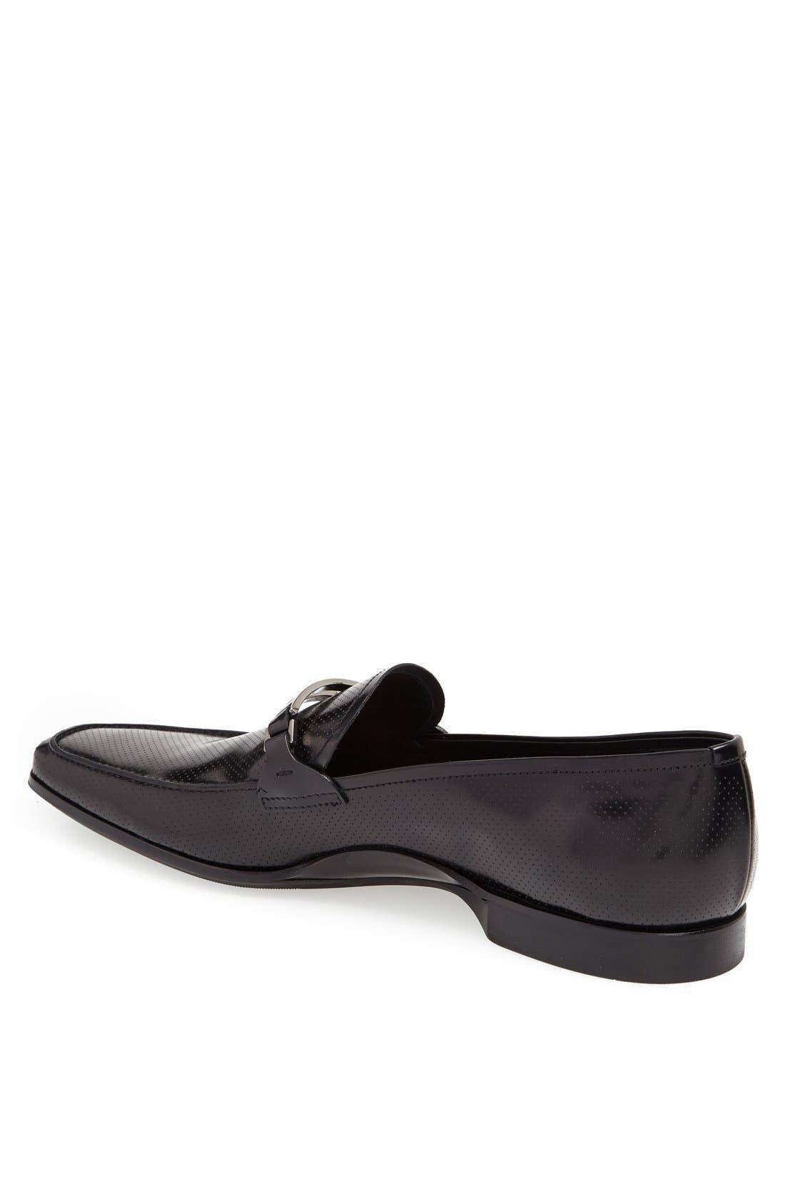 Alternate Image 2  - Prada Leather Bit Loafer