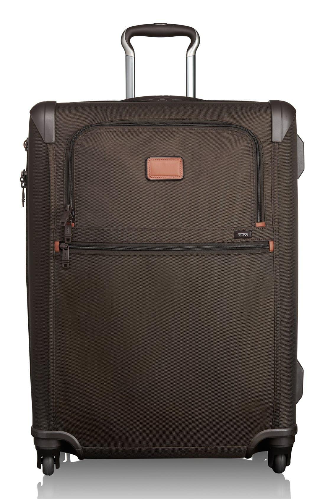 Main Image - Tumi 'Alpha 2' Short Trip Rolling Four Wheel Expandable Suitcase (26 Inch)