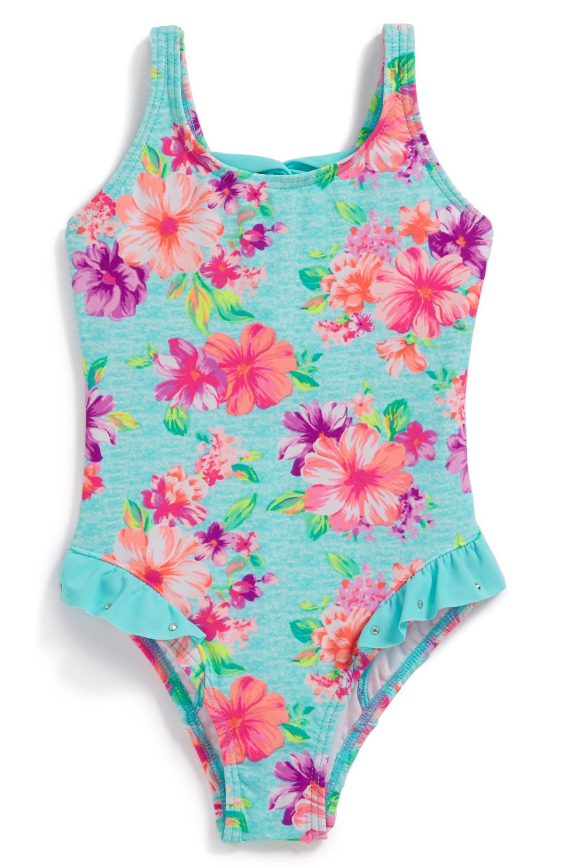 Alternate Image 1 Selected - Hula Star 'Country Charm' One-Piece Swimsuit (Toddler Girls)