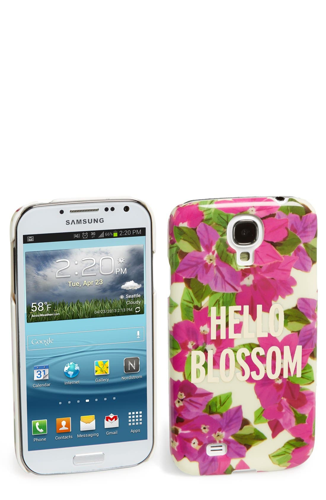 Alternate Image 1 Selected - kate spade new york 'hello blossom' Samsung Galaxy case
