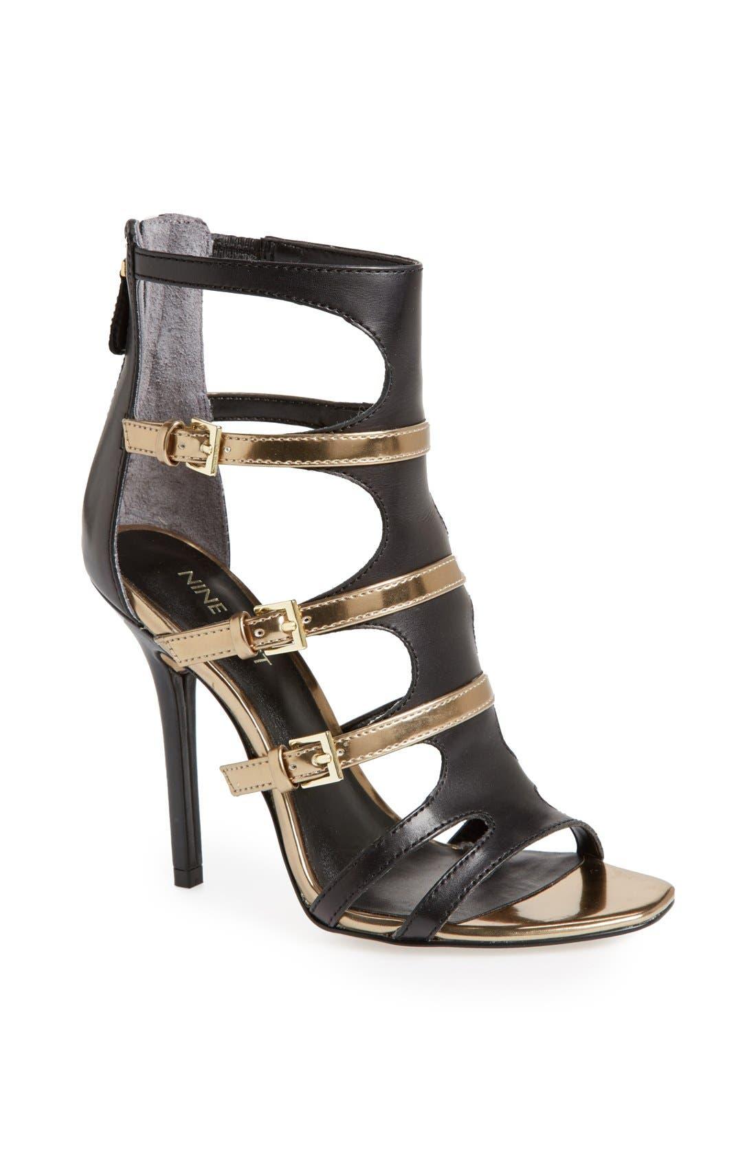 Alternate Image 1 Selected - Nine West 'Karoler' Gladiator Sandal