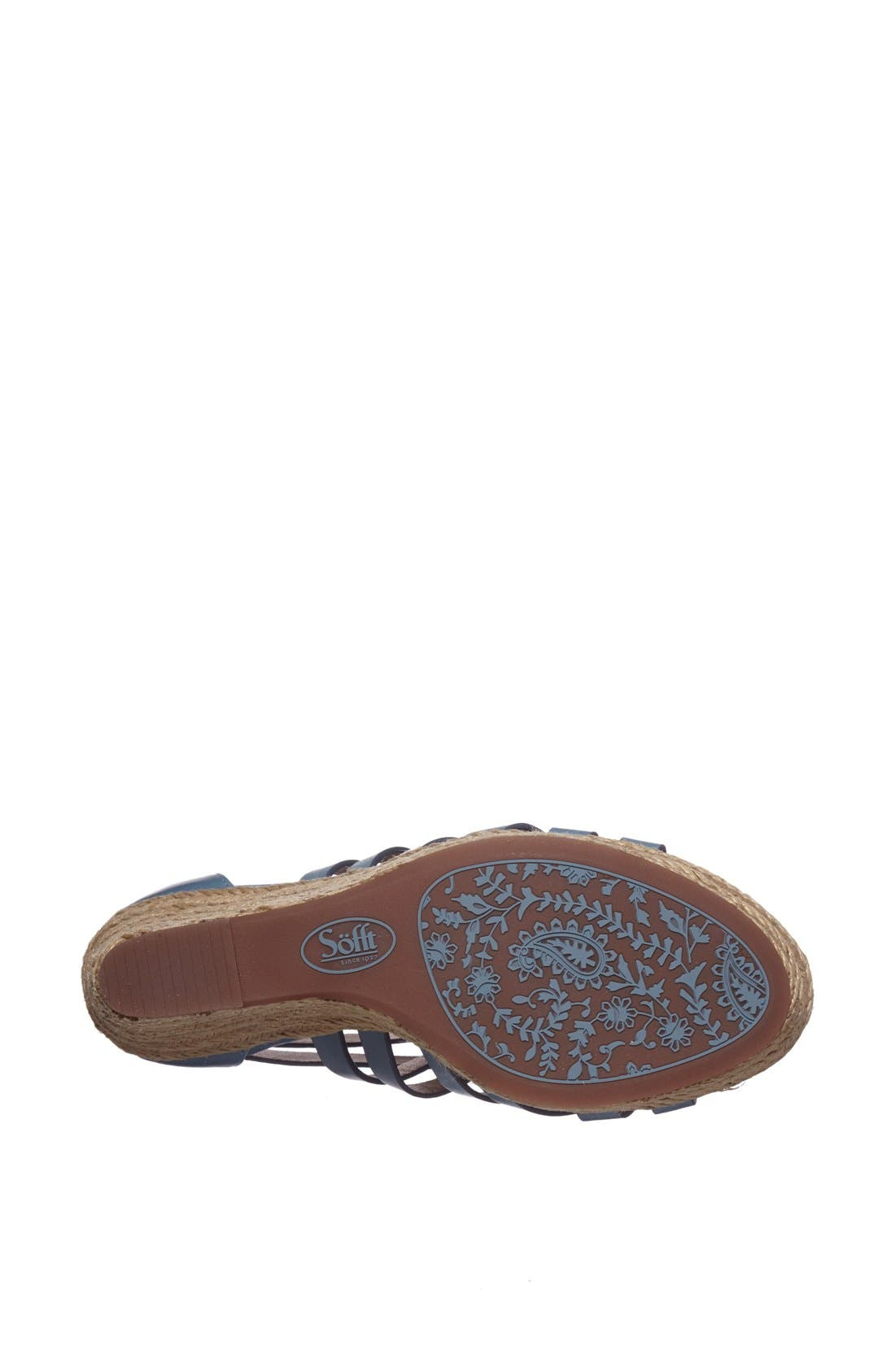 Alternate Image 4  - Söfft 'Priti' Wedge Sandal