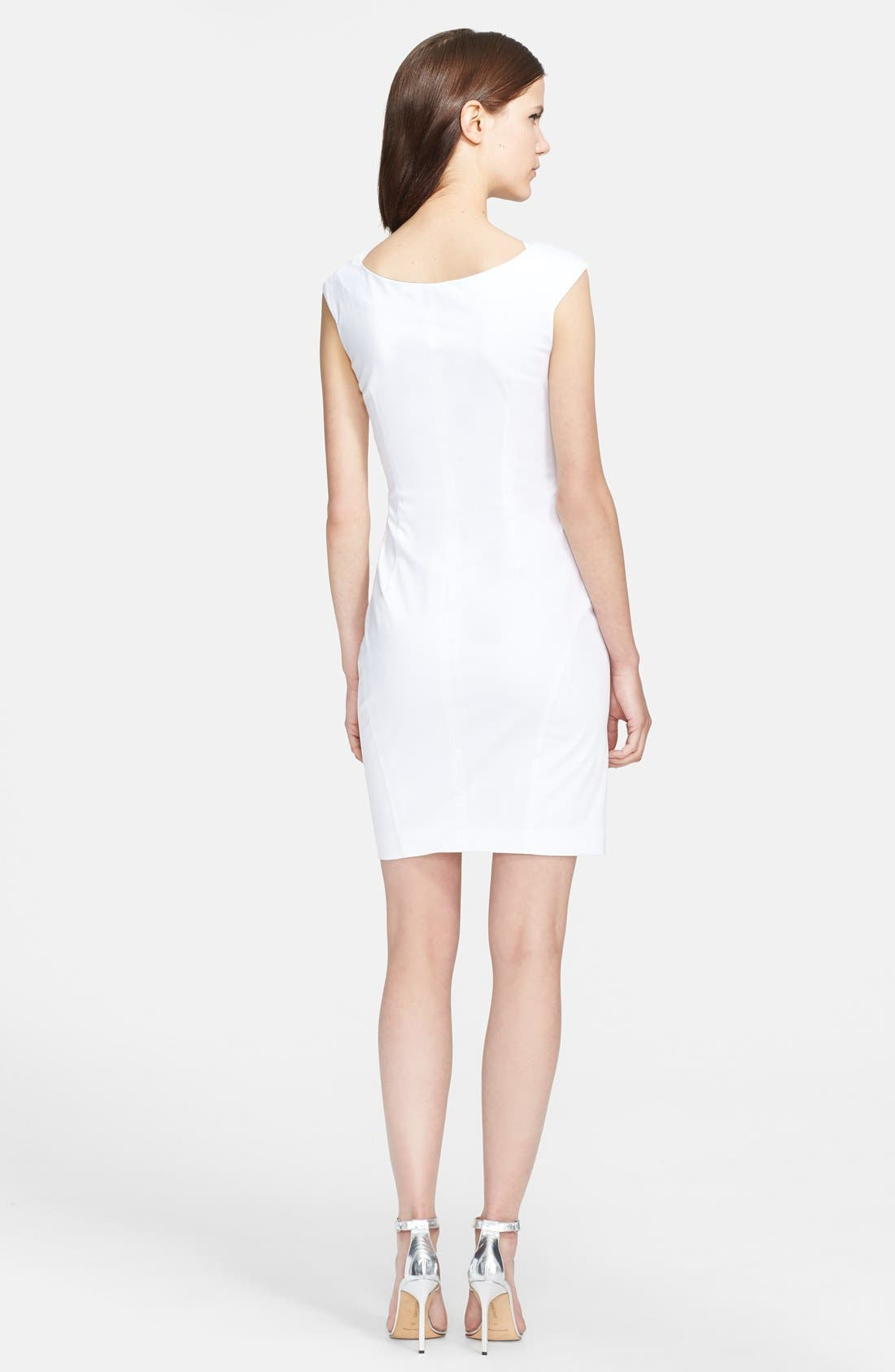 Alternate Image 2  - Emilio Pucci Stretch Cotton Sheath Dress