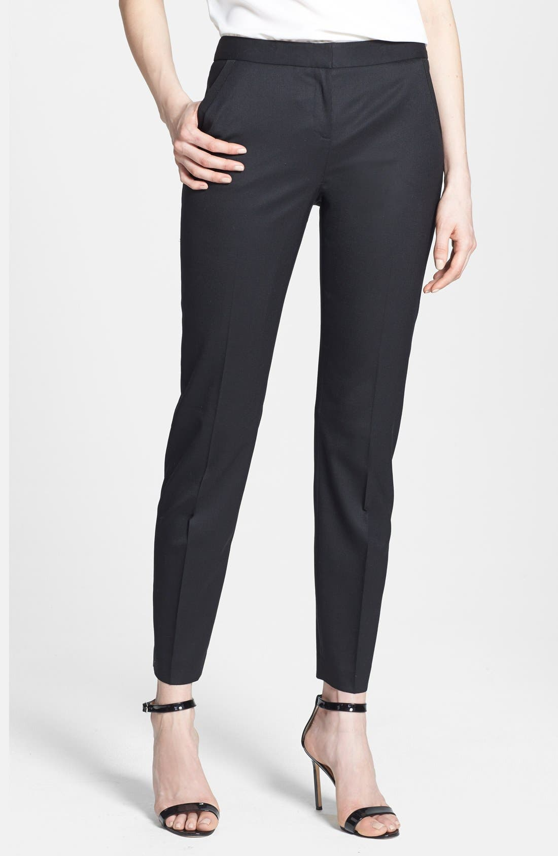 Alternate Image 1 Selected - Ted Baker London Slim Leg Stretch Trousers