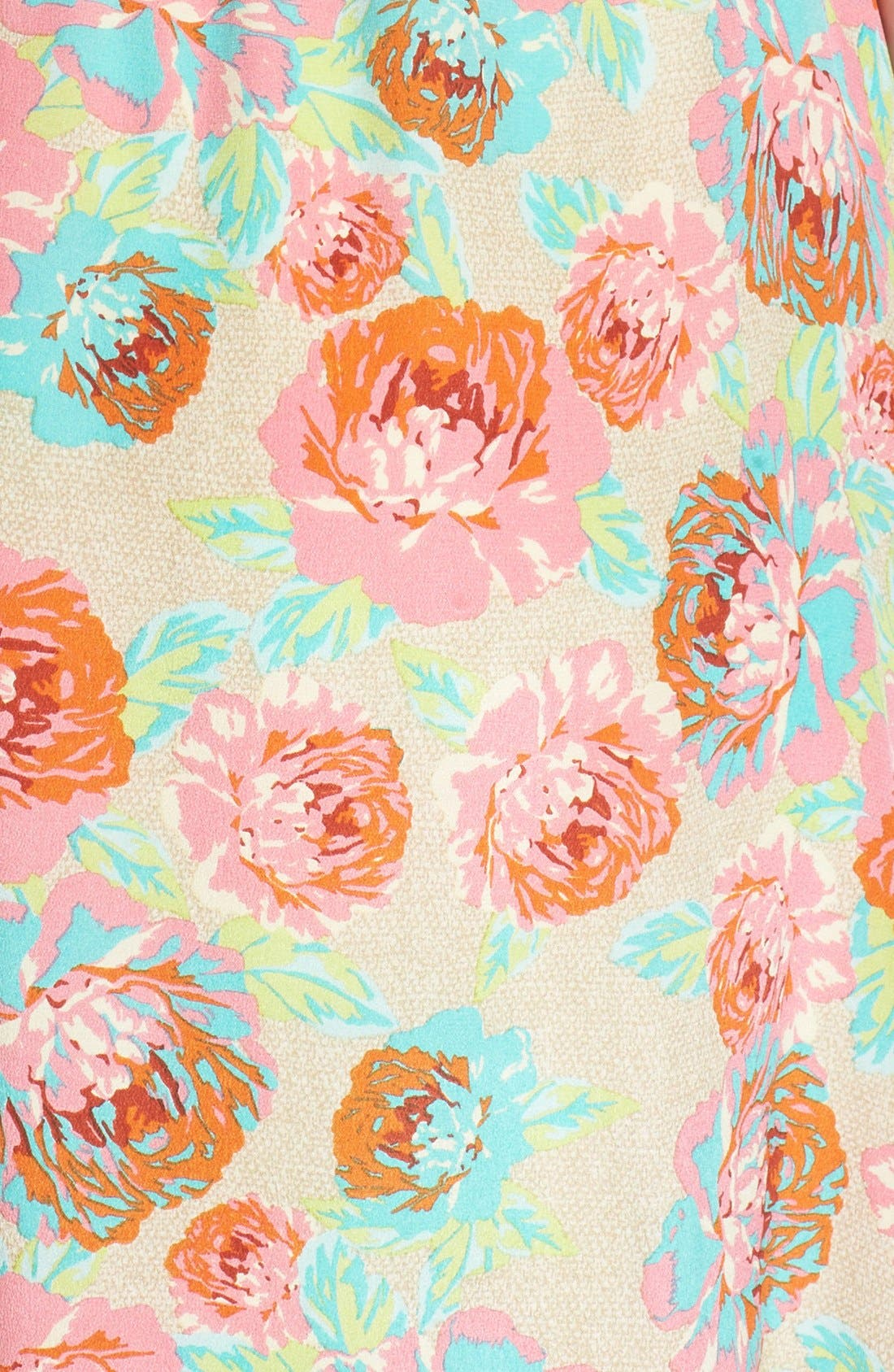 Alternate Image 3  - Ella Moss 'Delilah' Floral Silk Maxi Dress