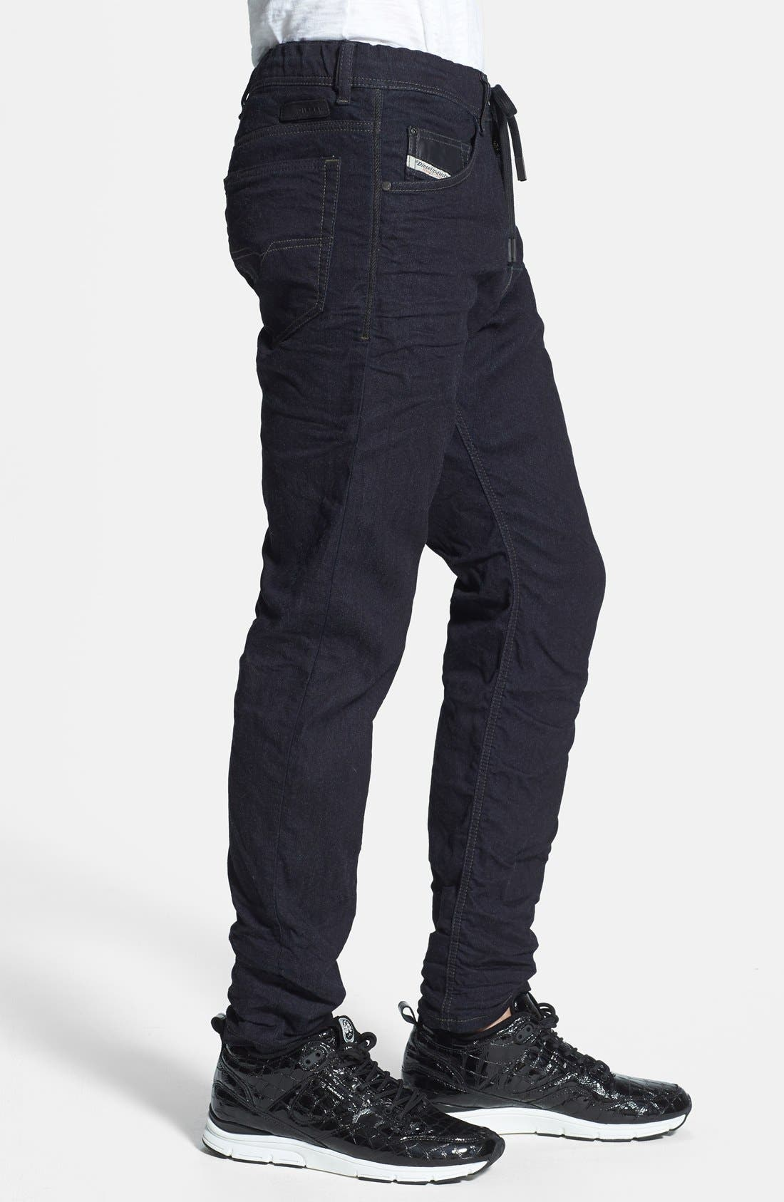 Alternate Image 3  - DIESEL® 'Narrot Jogg' Slim Fit Jeans (600V)