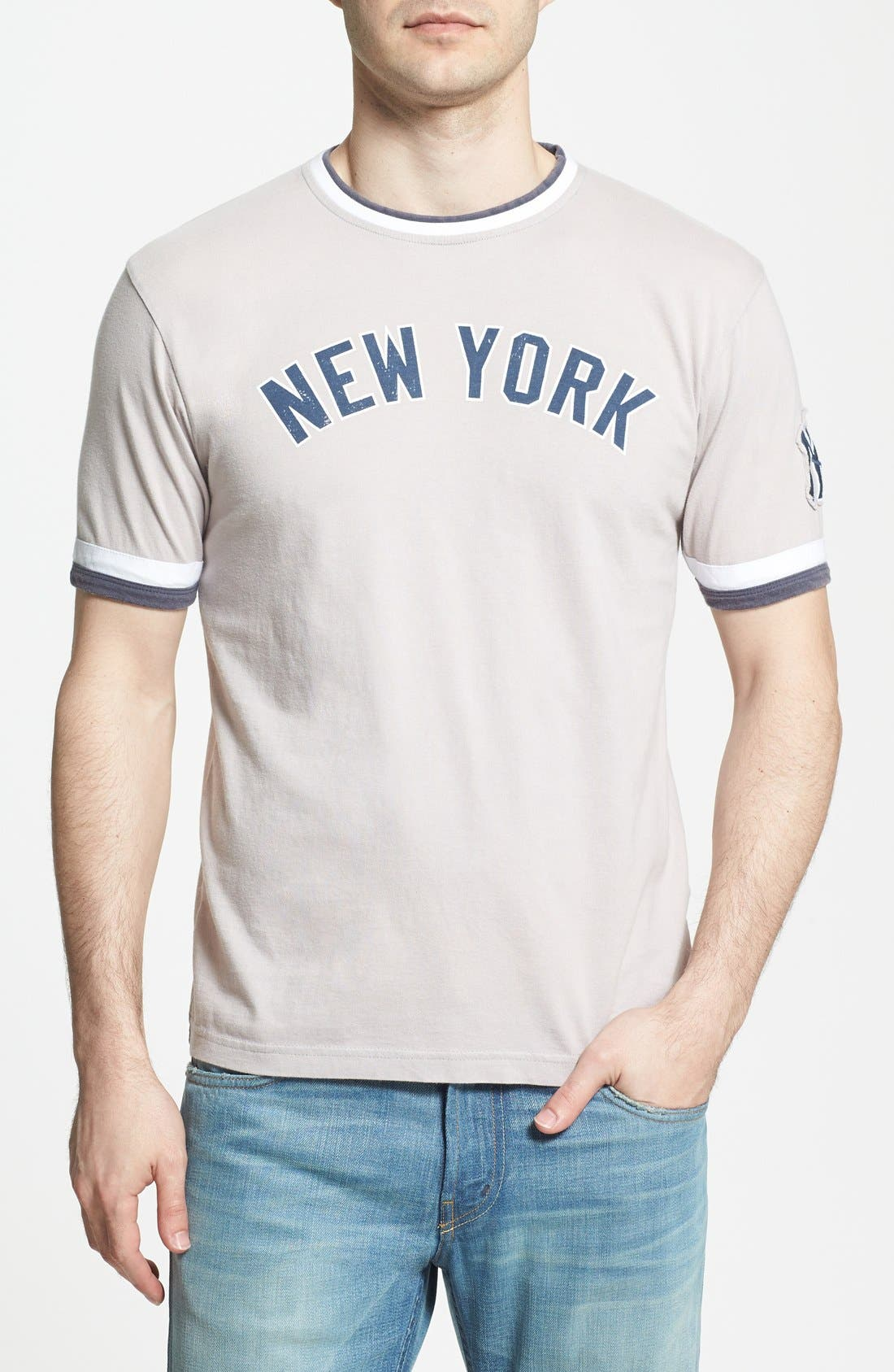 Alternate Image 1 Selected - Red Jacket 'Yankees - Remote Control' T-Shirt (Men)